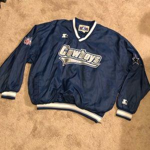 Vintage Starter Dallas Cowboys Pullover